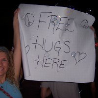 Frances Arnold Namaste Nutritionist Free Hugs