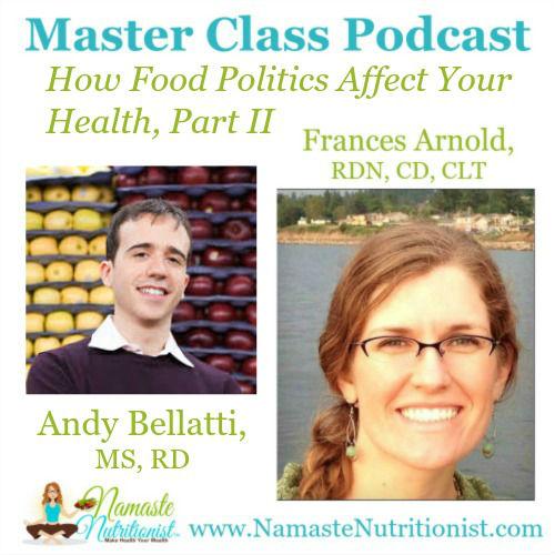 Andy Bellatti food politics health 2