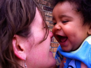 Show your loved ones that they matter. This is my sister and nephew.