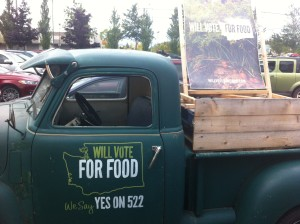 This truck is on display now inside of Whole Foods in Lynnwood, WA. Thank you, Whole Foods!