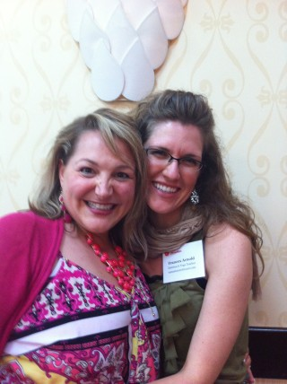Me with Stacey Martino, the Love & Passion Coach