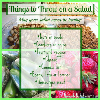 things to throw on a salad