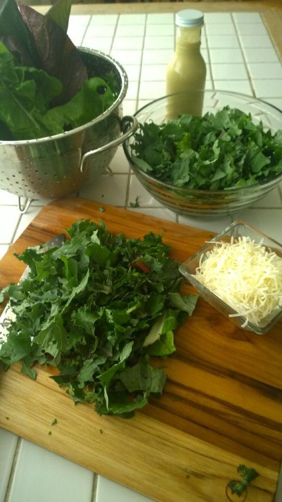 Kale - Chard_Caesar Salad 10