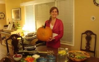Frances Arnold Pumpkin Soup Thanksgiving