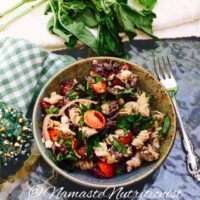 Greek Pasta Salad, Gluten-Free, Vegetarian